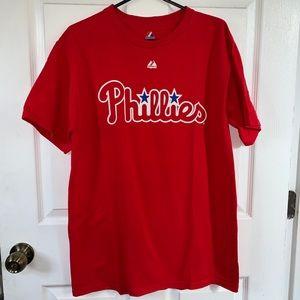 Phillies red t shirt